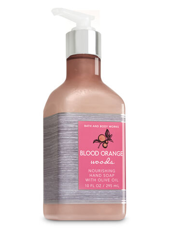 Blood Orange Woods Hand Soap with Olive Oil - Bath And Body Works