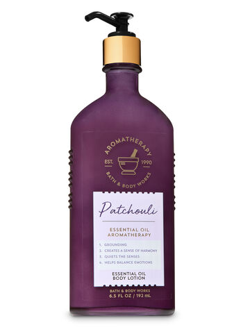 Aromatherapy Patchouli Essential Oil Body Lotion - Bath And Body Works
