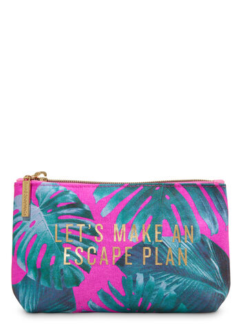 Let's Make an Escape Plan Cosmetic Bag - Bath And Body Works