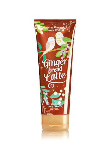 Signature Collection Gingerbread Latte Ultra Shea Body Cream - Bath And Body Works