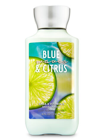 Signature Collection Blue Waves & Citrus Body Lotion - Bath And Body Works