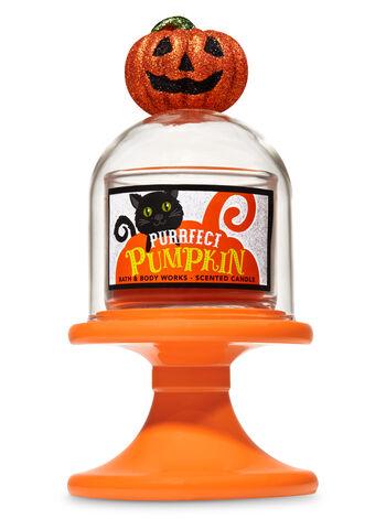 Pumpkin Cloche Pedestal Mini Candle Holder - Bath And Body Works