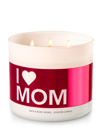 I Love Mom - Lilac Blossom 3-Wick Candle - Bath And Body Works
