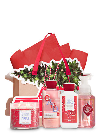 Winter Candy Apple Truck Tree Trimmer Gift Kit