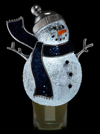 Glittery Snowman Nightlight Wallflowers Fragrance Plug