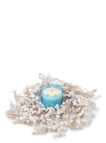 Snow Berry 3-Wick Candle Ring - Bath And Body Works