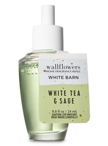 White Tea & Sage Wallflowers Fragrance Refill - Bath And Body Works