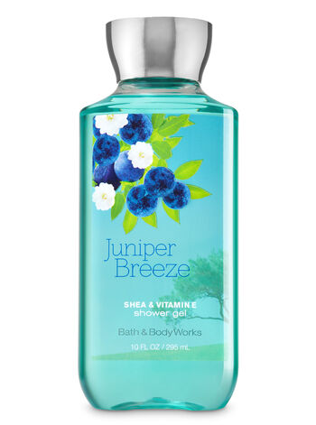 Signature Collection Juniper Breeze Shower Gel - Bath And Body Works