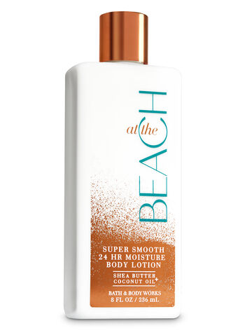 at the beach super smooth body lotion bath body works