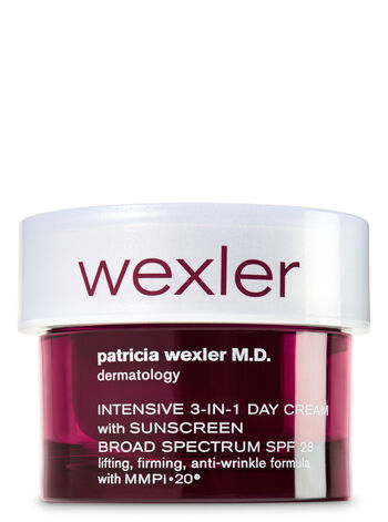 Wexler Intensive 3-In-1 Day Cream With Sunscreen SPF 28 - Bath And Body Works