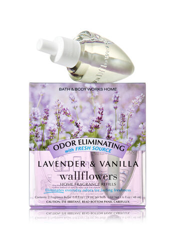 Lavender & Vanilla Wallflowers 2-Pack Refills - Bath And Body Works