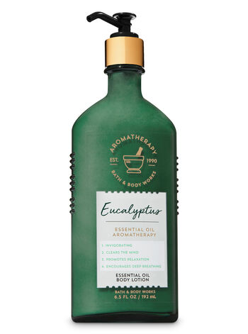Aromatherapy Eucalyptus Essential Oil Body Lotion - Bath And Body Works