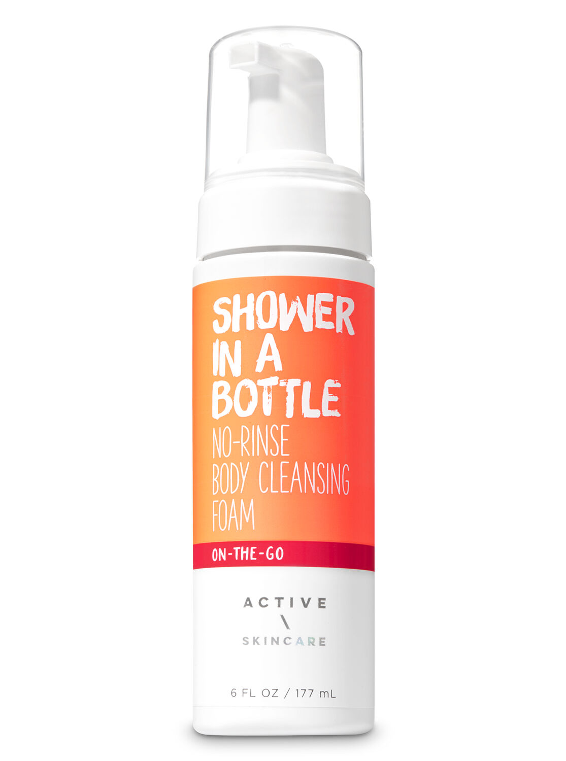 Shower in a Bottle No-Rinse Body Cleansing Foam - Signature ...