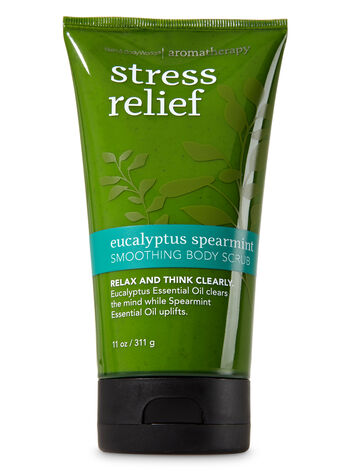 Aromatherapy Eucalyptus Spearmint Smoothing Body Scrub - Bath And Body Works
