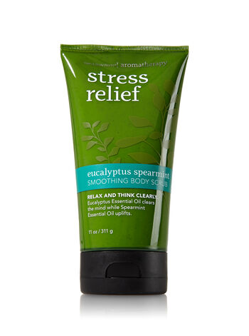 Aromatherapy Eucalyptus Spearmint Smoothing Body Scrub - Bath And Body Works
