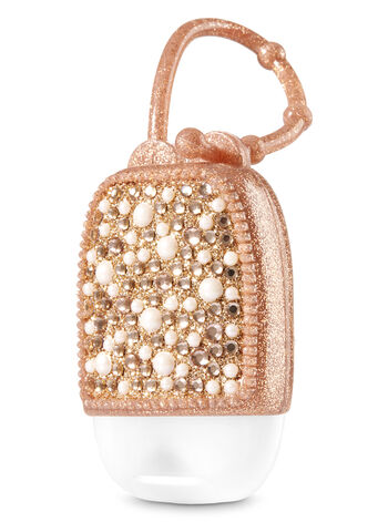Rose Gold Bling Pearl PocketBac Holder - Bath And Body Works