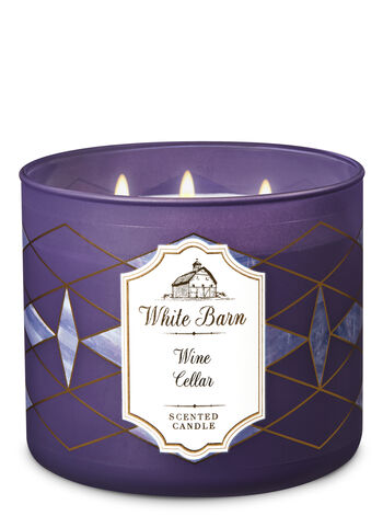 Wine Cellar 3-Wick Candle - Bath And Body Works