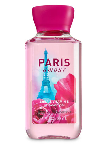 Signature Collection Paris Amour Travel Size Shower Gel - Bath And Body Works