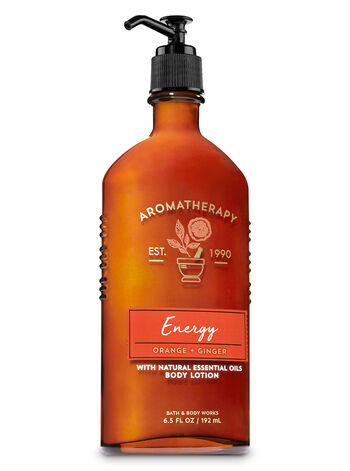Aromatherapy Energy - Orange & Ginger Body Lotion - Bath And Body Works