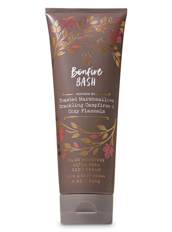 Signature Collection Bonfire Bash Ultra Shea Body Cream - Bath And Body Works