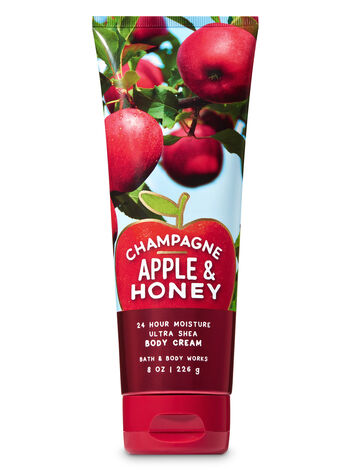 Champagne Apple & Honey Ultra Shea Body Cream - Bath And Body Works