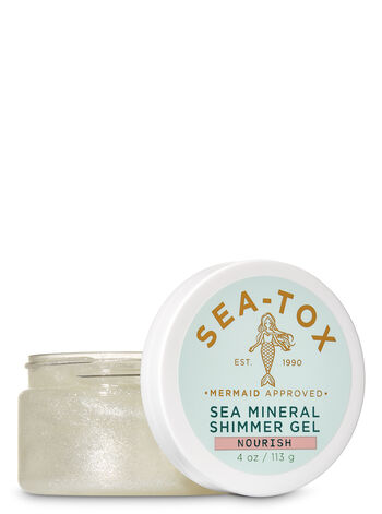 Sea-Tox Sea Mineral Shimmer Gel - Bath And Body Works