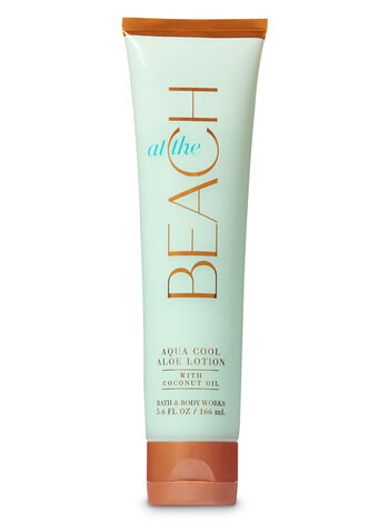 Signature Collection At The Beach Aqua Cool Aloe Lotion - Bath And Body Works