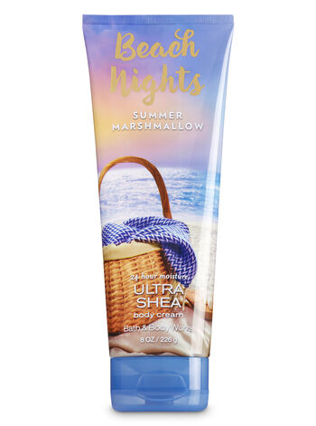 Signature Collection Beach Nights - Summer Marshmallow Body Cream - Bath And Body Works