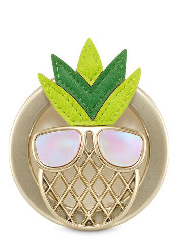Pineapple Visor Clip Scentportable Holder - Bath And Body Works