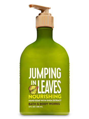 Jumping in Leaves Hand Soap with Shea Extract - Bath And Body Works