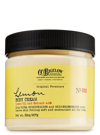 C.O. Bigelow Lemon Body Cream - Limited Edition Size - Bath And Body Works