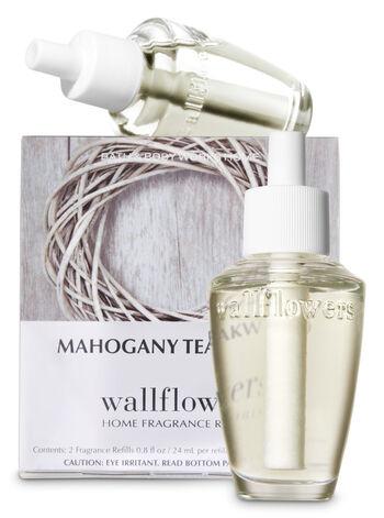 Mahogany Teakwood Wallflowers Refills, 2-Pack - Bath And Body Works
