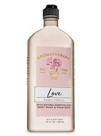 Aromatherapy Rose & Vanilla Body Wash & Foam Bath - Bath And Body Works