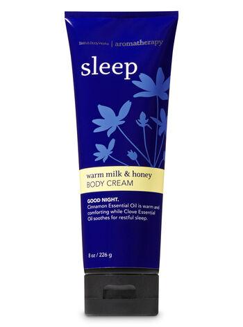 Aromatherapy Warm Milk & Honey Body Cream - Bath And Body Works