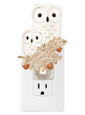 Snow White Owl Duo Wallflowers Fragrance Plug
