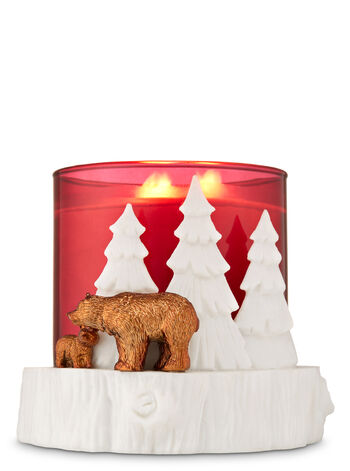 Tree Stump 3-Wick Candle Holder - Bath And Body Works
