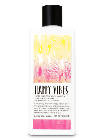 Signature Collection Happy Vibes Super Smooth Body Lotion - Bath And Body Works