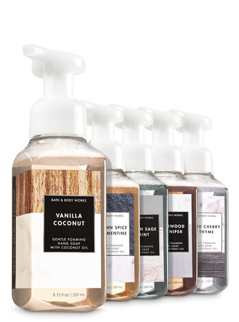 Let's Talk Texture 5-Pack Gentle Foaming Soap - Bath And Body Works