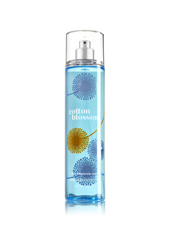 Signature Collection Cotton Blossom Fine Fragrance Mist - Bath And Body Works