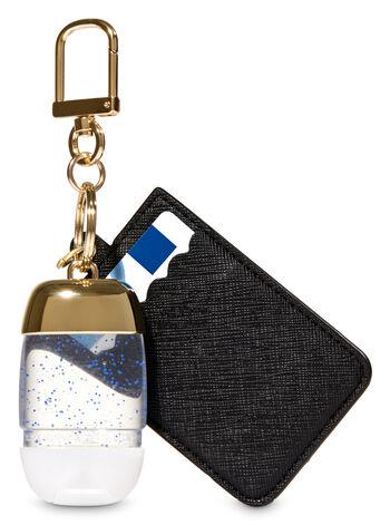 Black & Gold Credit Card & PocketBac Holder - Bath And Body Works