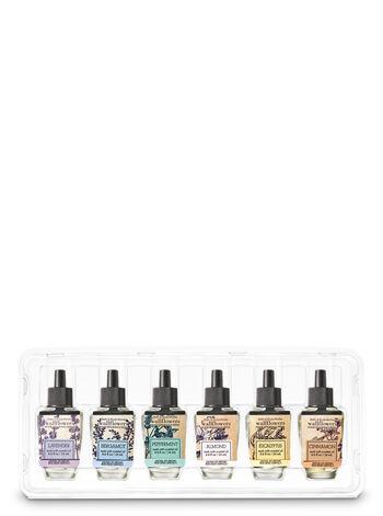 Fresh Essential Oils 6-Pack Wallflowers Sampler