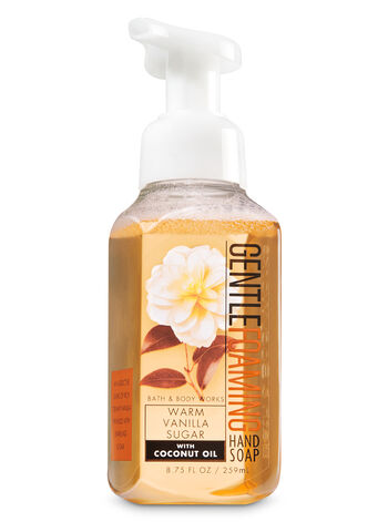 Warm Vanilla Sugar Gentle Foaming Hand Soap - Bath And Body Works