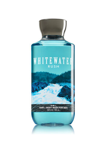 Signature Collection Whitewater Rush For Men 2-in-1 Hair + Body Wash - Bath And Body Works