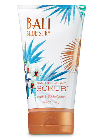 Signature Collection Bali Blue Surf Sand & Sea Salt Scrub - Bath And Body Works