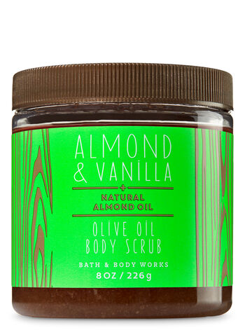 Almond & Vanilla Olive Oil Body Scrub - Bath And Body Works