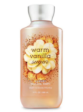 Signature Collection Warm Vanilla Sugar Luxury Bubble Bath - Bath And Body Works
