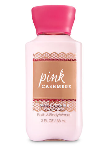 Signature Collection Pink Cashmere Travel Size Body Lotion - Bath And Body Works