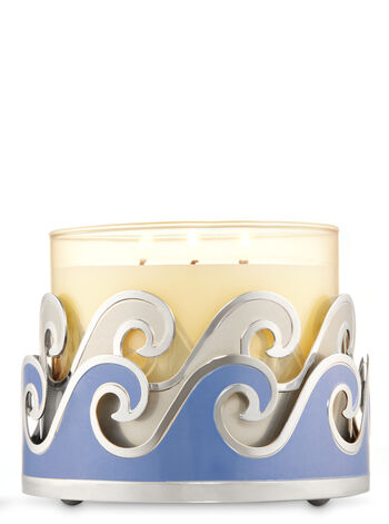 Waves 3-Wick Candle Sleeve