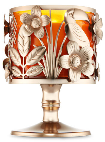 Toucan Pedestal 3-Wick Candle Holder - Bath And Body Works