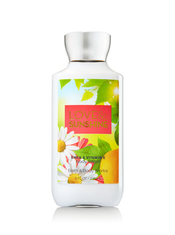 Signature Collection Love & Sunshine Body Lotion - Bath And Body Works